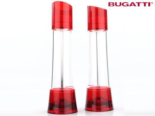 Dagaanbieding: Bugatti Glamour Zout/Pepermolens - Duopack
