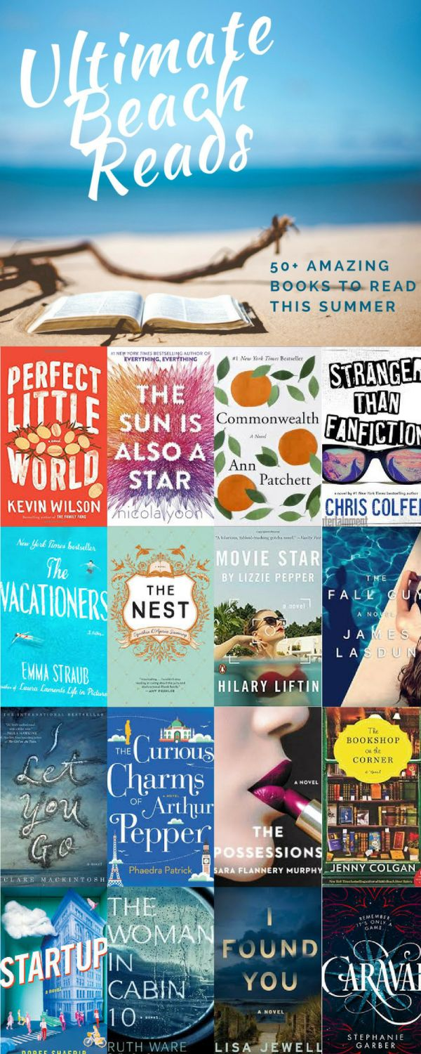 Pin Now, Read Later! Best summer reads for 2017! Beach Reads 2017 are the best yet!