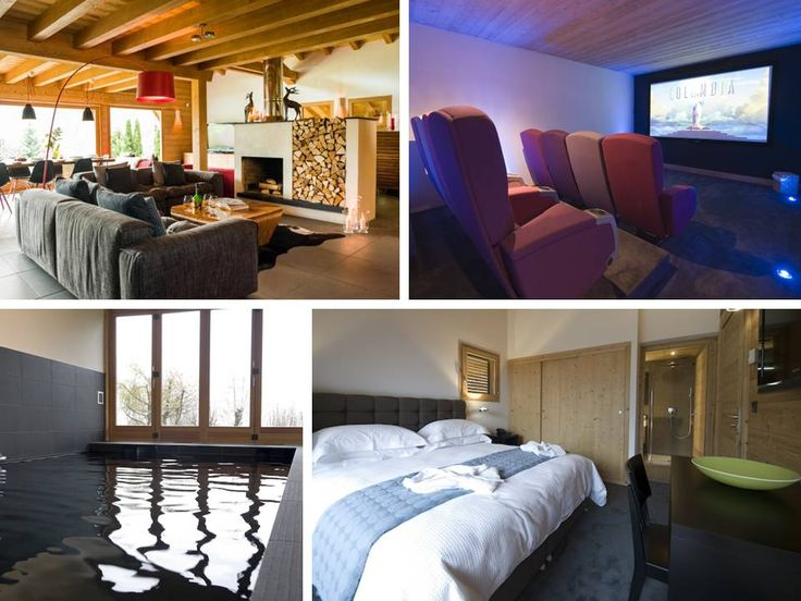 """SPEFCIAL OFFER!!! The stunning #luxury Chalet """"Maison Blanche & Verte"""" (sleeps 12, bedrooms 6, bathrooms 6, POOL, CINEMA ROOM), Châtel (90 min drive from Geneva) in the #FrenchAlps is offering 65% (3 nights), 75% (4 nights), 80% (5 nights) of weekly price for WEEKENDS/SHORT BREAKS. Short breaks MUST start or finish on a sunday! Available on all OFF PEAK WEEKS! Call us now +34 971 13 15 41  #luxurylifestyle #snow #holidays #luxurychalets #winter #ski #skiing #alpine #luxurytravel…"""