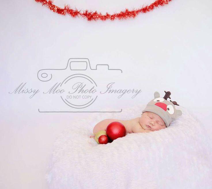 Baby Christmas shoot