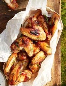 Recepty: Kuřecí křídla v pomerančovo-rozmarýnové marinádě/chicken wings in the orange-rosemary marinade
