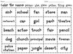 proper noun worksheet - Bing images