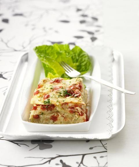 Sauerkraut-Lasagne - [ESSEN UND TRINKEN]