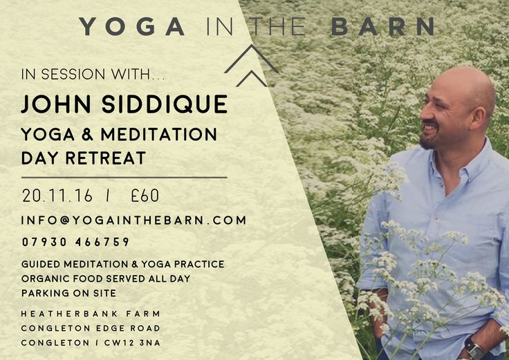 Please note we've had to change the date for our Yoga & Meditation Day Retreat to 20th Nov. Meditation & Yoga Go Together Like A Spiritual Hand In Glove. Am so happy to offer this healing and enlightening day retreat with April Greaves & Yoga in the Barn Come and join us, get into your presence, bliss, & body in the most lovely surroundings. https://www.facebook.com/events/120673808382339/