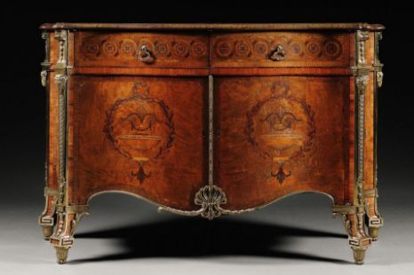 This chest of drawers crafted by Thomas Chippendale has become the most expensive piece of English furniture (PA)