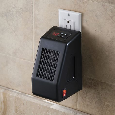 Wall Outlet Mounted Space Heater