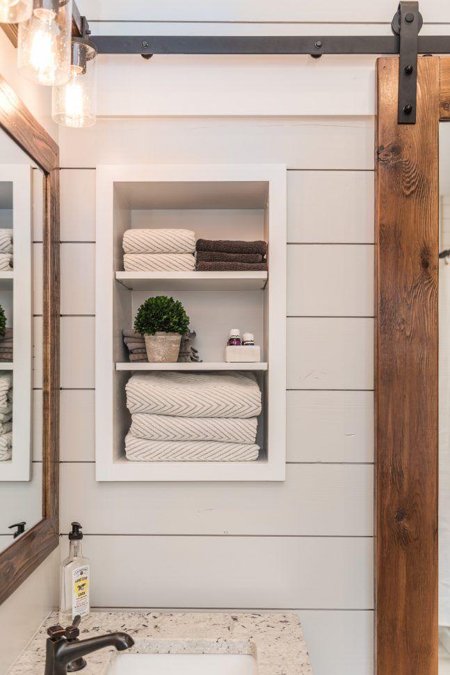 Modern Farmhouse Bathroom best 25+ farmhouse bathroom mirrors ideas on pinterest | farmhouse