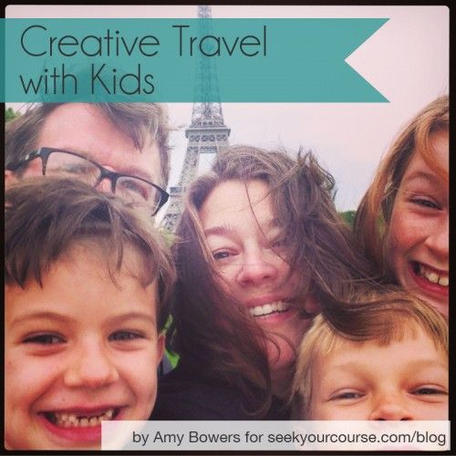 Love this post about world traveling with kids. Love the idea of on going projects and scavenger hunts.