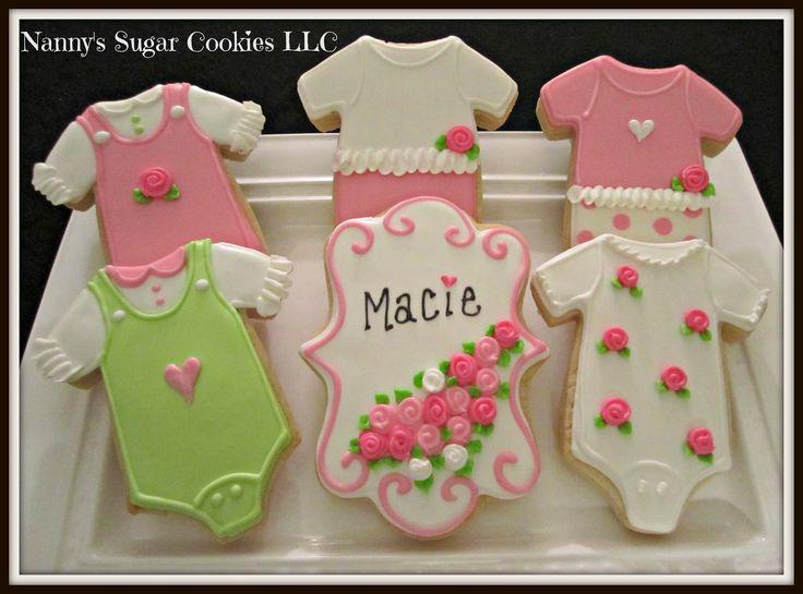 on pinterest baby girl cookies baby shower cookies and cute cookies