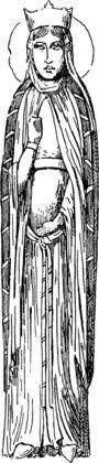 AREGONDE: Si l'on en croit Grégoire de Tours, la reine franque Ingonde, épouse du roi Clotaire I°, ayant demandé à ce dernier de trouver un mari qui soit digne de sa soeur cadette Arégonde, le roi ne trouva meilleur prétendant que lui-même et décida d'épouser sa belle-soeur.