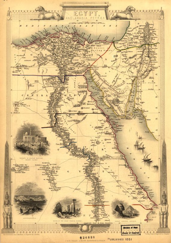 57 best Maps images on Pinterest | Cairo egypt, Antique maps and Old ...