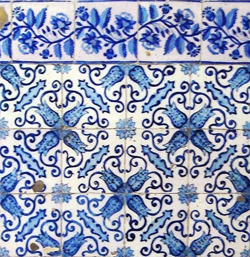 Azulejos antigos no Rio de Janeiro: Centro XXXIV - Santa Casa de Misericórdia do Rio de Janeiro