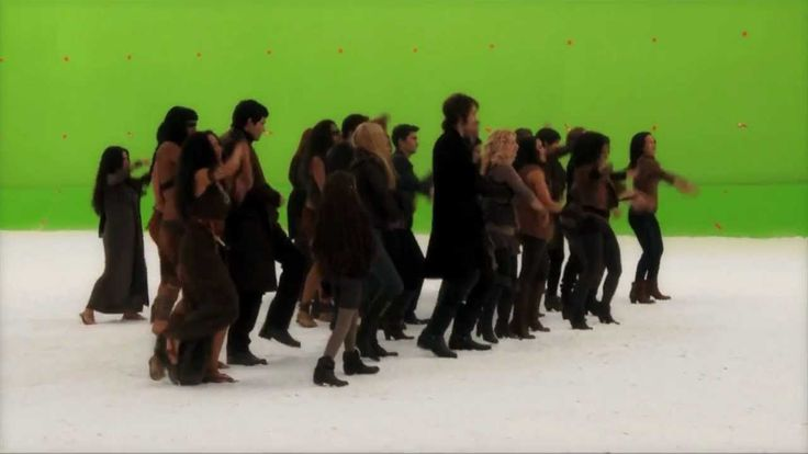 """The Twilight Saga: Breaking Dawn Part 2 (2012) - Behind the Scenes """"The Dance Off"""" 