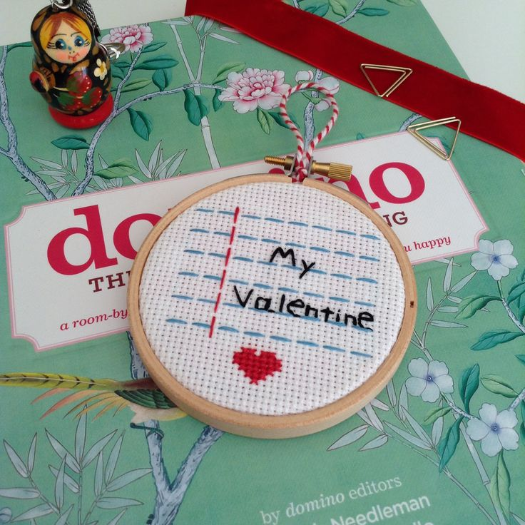 Valentine's Day, love, decor, handmade, hand stitched, embroidery hoop, gift, etsy, domino, embroidered, embroidery hoop, egst, handmade, handmade in Greece