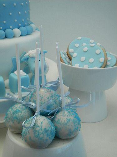 Cakepops Bautismo | Flickr: Intercambio de fotos