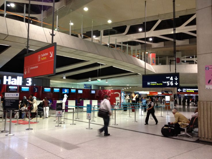 Charles De Gaulle Airport Terminal 1 2012