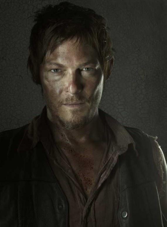 The Walking Dead Season 3 Portraits - Daryl Dixon (actor Norman Reedus). Photo taken in 2012