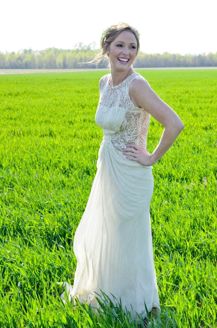 wedding dresses for sale used wedding dresses BHLDN Cypress Gown Size 4 Wedding Dress