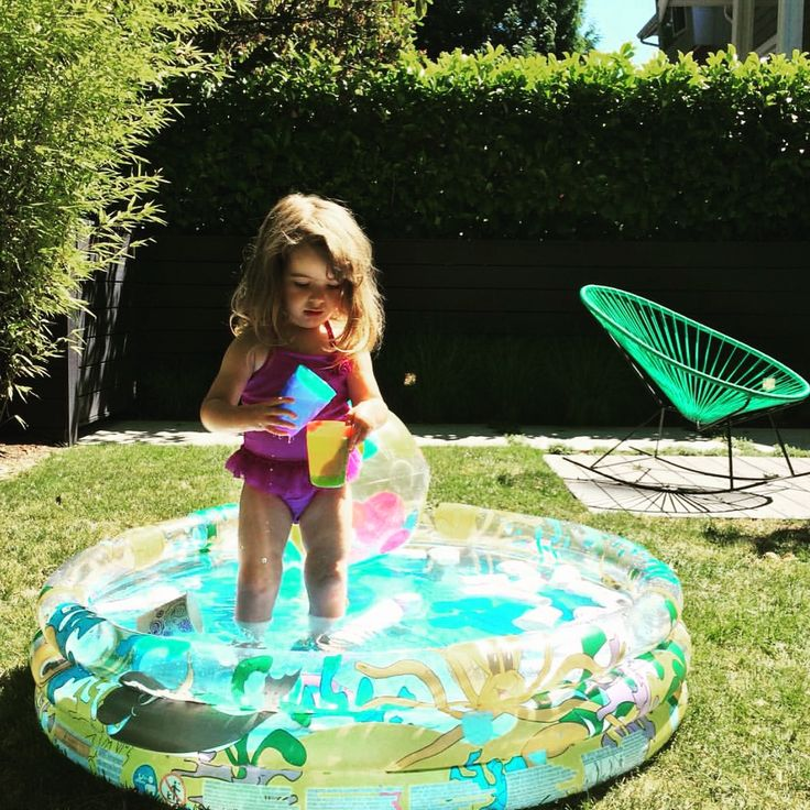 Don't worry about splashing all over your Acapulco Rocker this summer. They are very durable and weatherproof! Check out our other colours on our website!