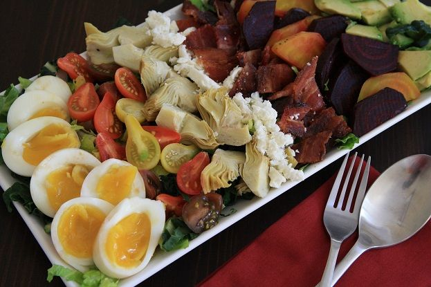 Crave worthy ultimate cobb salad! Full of nutritious foods, and oh-so-delicious!