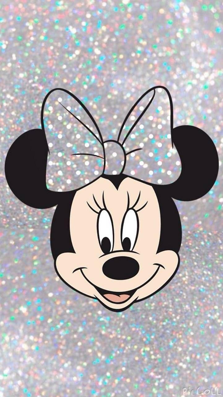 Glitter Minnie Mickey Mouse Wallpaper Disney Phone Wallpaper Wallpaper Iphone Disney