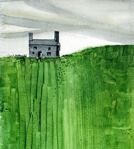 584 best watercolor landscapes images on pinterest for Modern house john welsh
