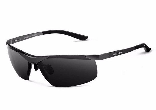 VEITHDIA® Rimless light weight adjustable UV400 Polarized Sport Sunglasses.The perfect VEITHDIA Polarized glasses for all your active sports. Superior Performan
