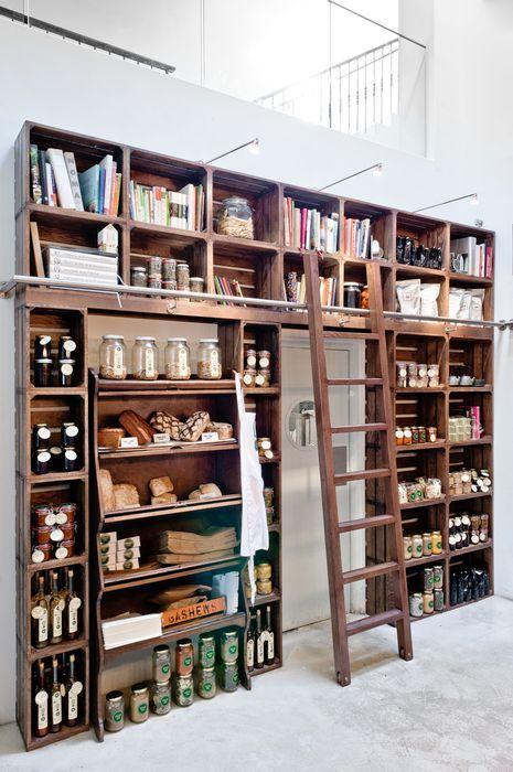 I want this for my open style pantry one day!!! - Restaurant and Bar Design Awards - Entry 2011/12
