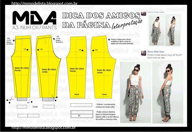 ModelistA: A4 NUM 0117 PANTS