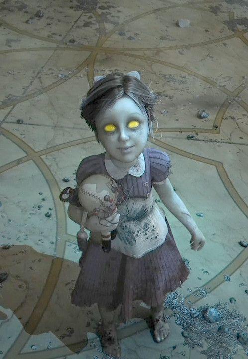 Bioshock -  little sister in the BIOSHOCK 2 Teaser Trailer