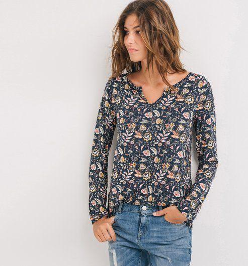 T-shirt+imprimé+Femme