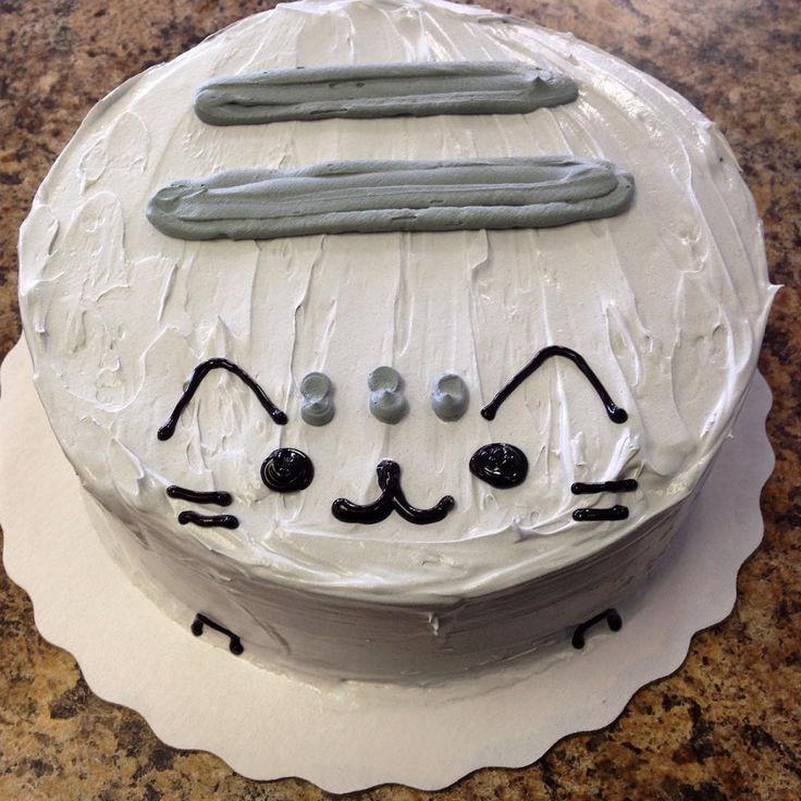 """@sticckler13 on Instagram: """"Pusheen ice cream cake I made! #Pusheen #pusheentreats"""""""