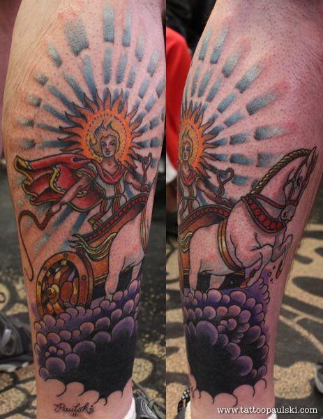 apollo sun tattoo - photo #38
