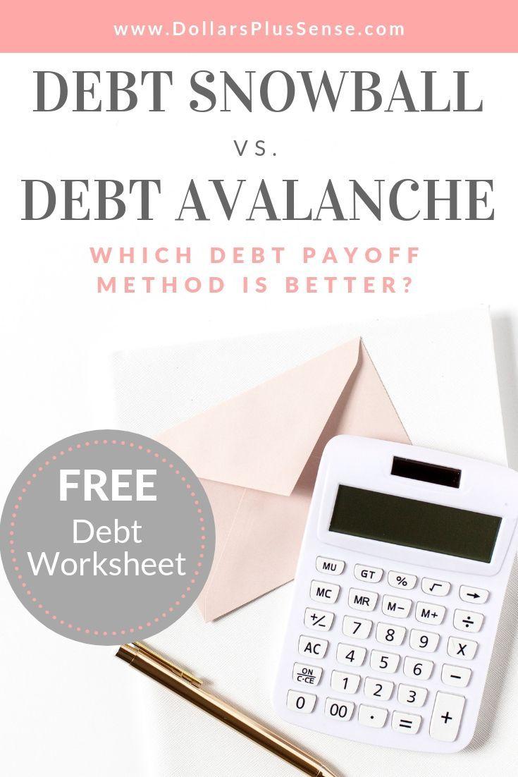 Welche Auszahlungsmethode ist besser, Schulden Schneeball vs Schulden Lawine? Du wirst gehen …   – Money saving ideas