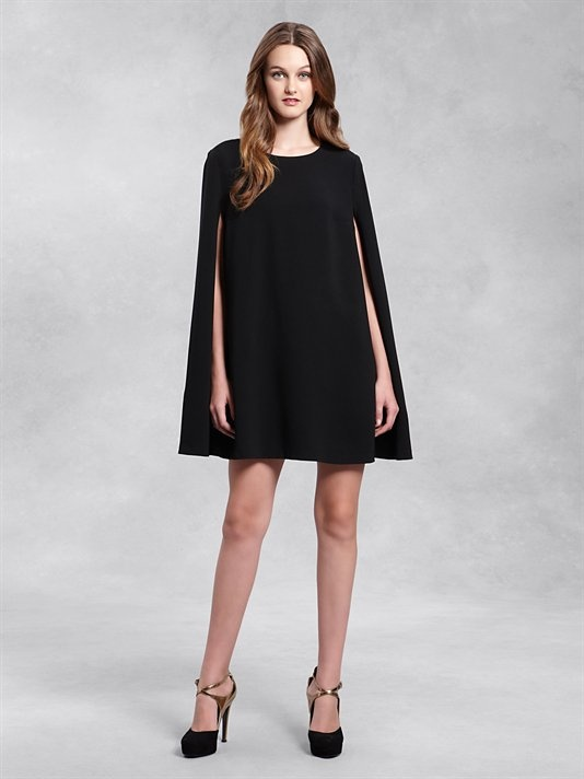 DKNY Cape Dress. Want.: Capes Dresses I, Capes Tunics, Dresses Inspiration, Dresses Glamorous, Dkny Capes, Capes Meeting, Style Inspiration, Dkny Dresses, Capes Aspect