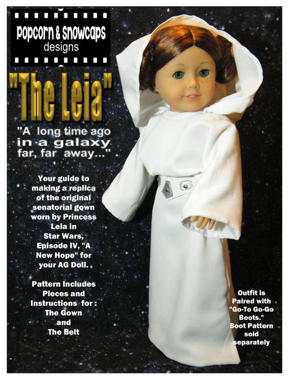 Princess Leia's Senatorial Gown Pattern for by PopcornandSnowcaps, $7.00