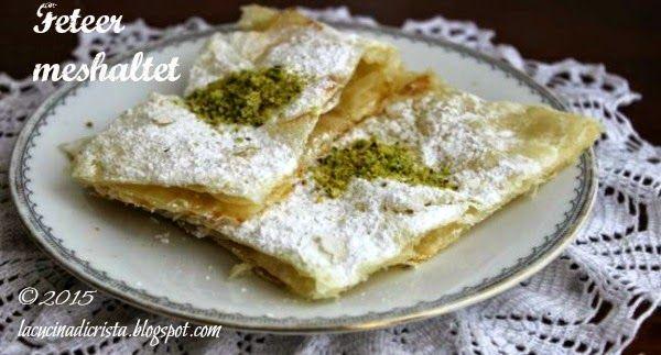 La cucina di Cristina: Feteer meshaltet per la I del Il Cairo ( Egitto) del'Abbecedario Culinario