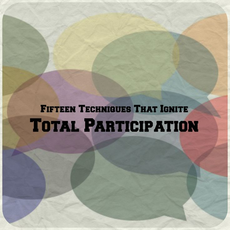 Hands Down: Fifteen Techniques that Ignite Total Participation