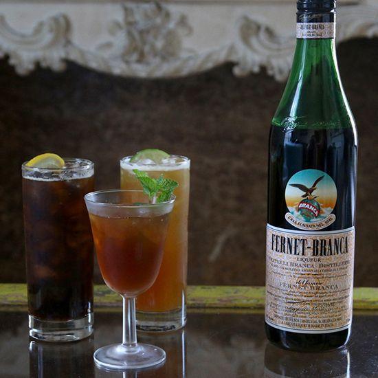 Fernet cocktails