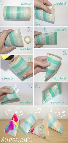 Afocal Bretagne. Des maracas hyper simples ! Oubliez les pots de yaourt, pensez aux rouleaux de papier WC ! Pensez à tester votre activité en amont !