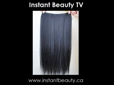 58 best hair extensions before after images on pinterest 30 second hair makeover easy and quick hair tutorial using hair extensions open me product featured one piece clip in extension from instant pmusecretfo Images