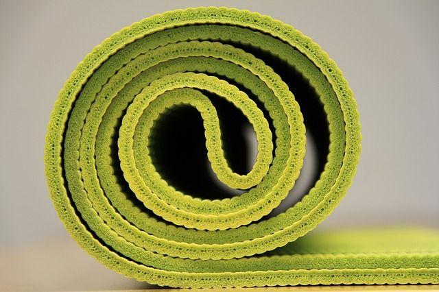 Immagine gratis su Pixabay - Yoga, Stuoia Di Yoga, Verde