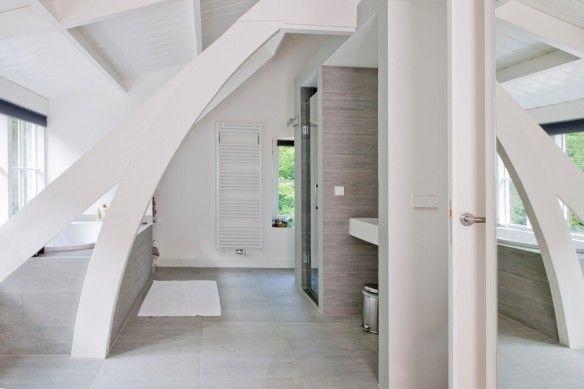 Open badkamer, Breukelen | Kodde Architecten