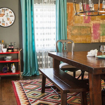 My Eclectic Dining Room Featured As Part Of Our Houzz Tour Diningroom Kilimrug