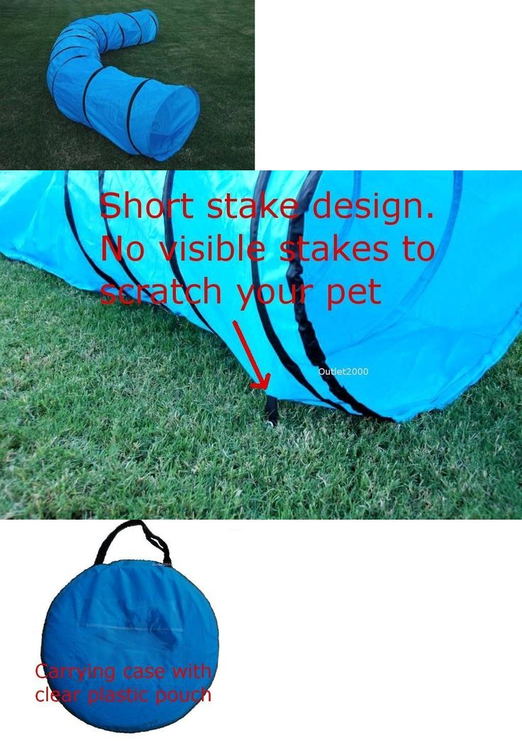 Agility Training 116383: Dog Agility Training Equipment Open Tunnel 18 Foot Carrying Case 24 Inch Opening -> BUY IT NOW ONLY: $47.99 on eBay!