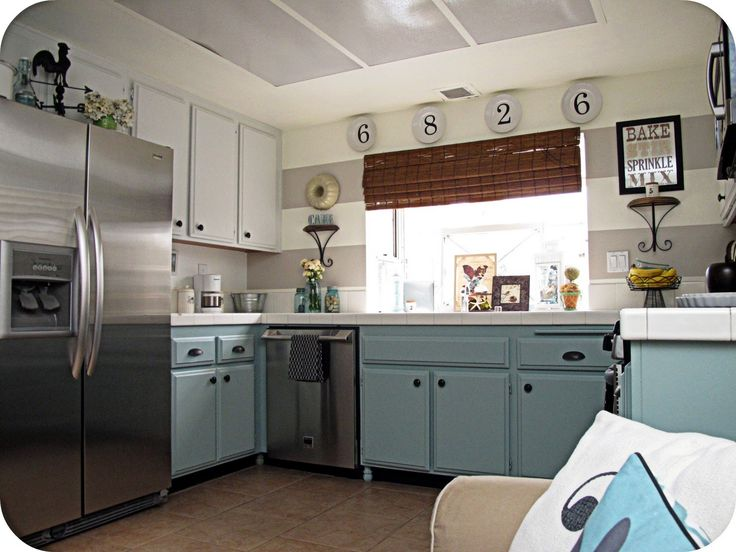 1000 ideas about vintage modern kitchens on pinterest for Country kitchen ideas pinterest