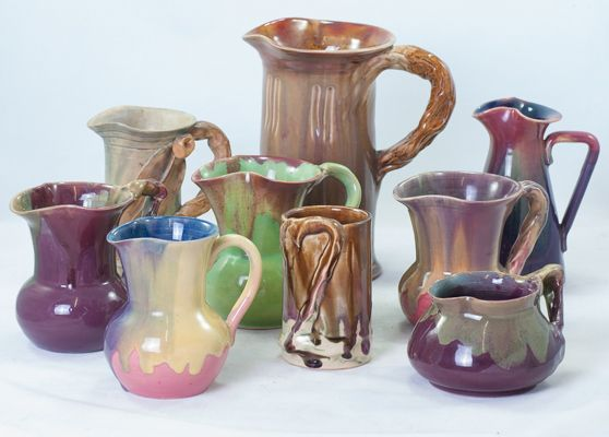 Selection of Remued  early series jugs