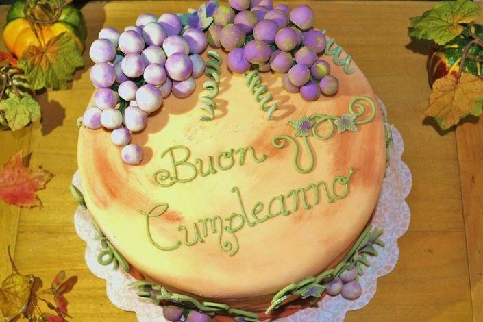 Happy Birthday Debbie Italian Cake