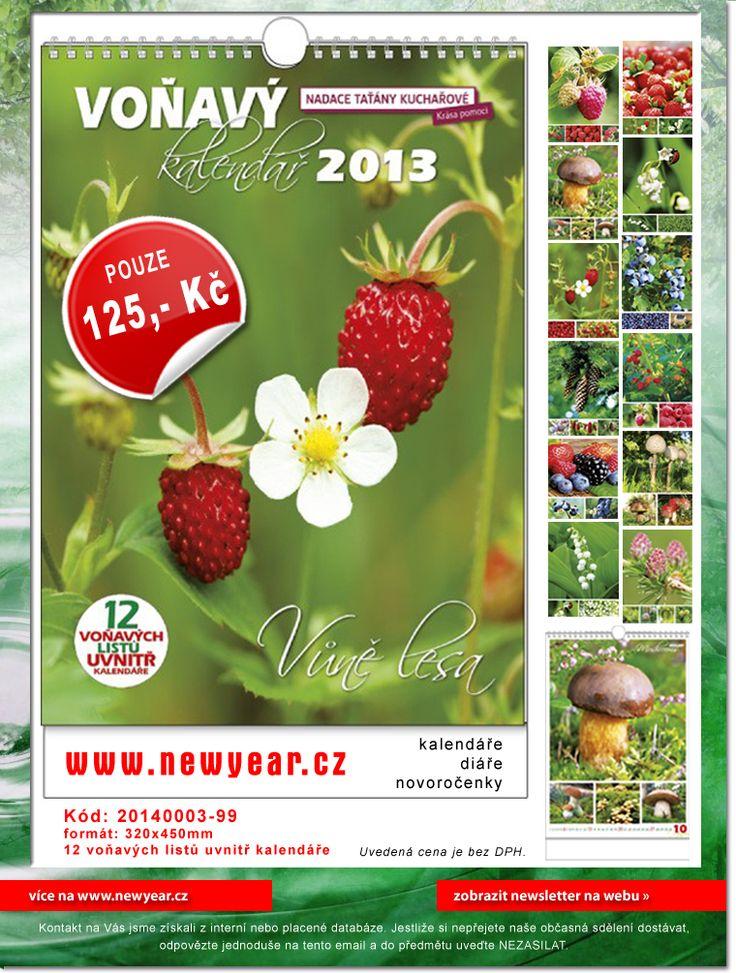Voňavé kalendáře http://www.newyear.cz/cz/novorocenky-kalendare/nastenne-kalendare/ostatni.html#katalog