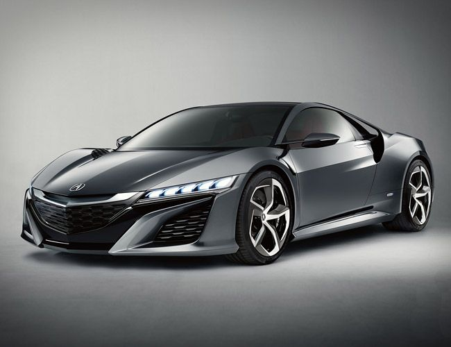 Acura NSX concept.  Best Sports Cars at Detroit 2013 - Gear Patrol